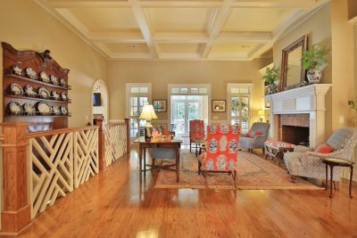 Dahlonega Staged Living Area