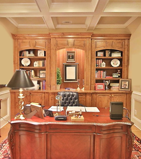 Staged Office Dahlonega GA